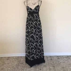 Guess shiffon dress size S